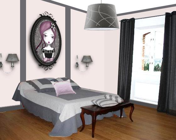 D coration d 39 une chambre d 39 adolescente floriane lemari for Deco chambre romantique