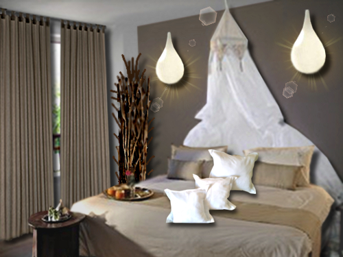 Avant apr s d coration d 39 une chambre douce et naturelle for Decoration chambre adulte couleur lin