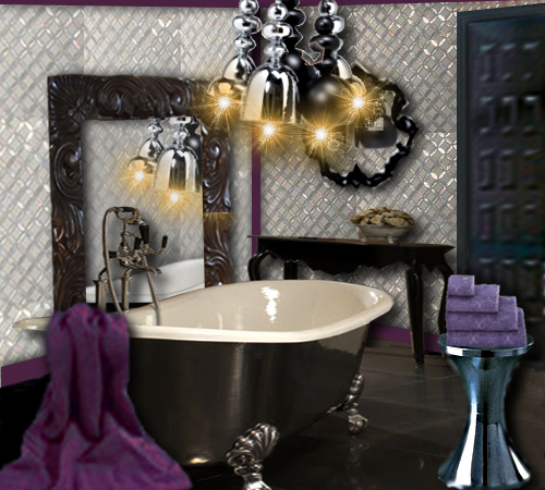 salle de bain baroque floriane lemari. Black Bedroom Furniture Sets. Home Design Ideas