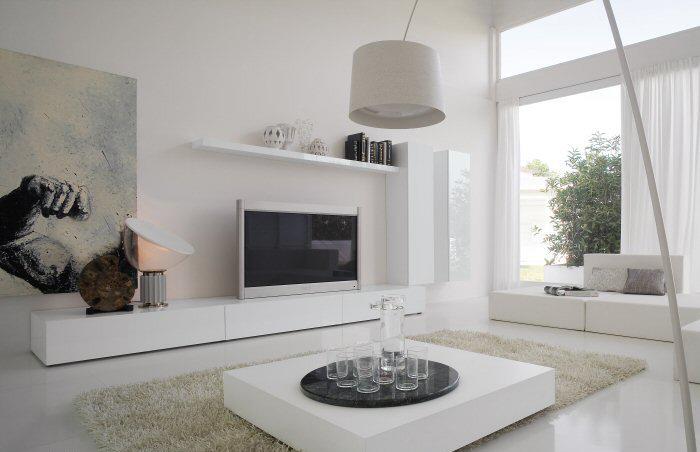 Mobile Soggiorno Bianco Ikea : Tout blanc comme ces jours ci intérieurs blancs la