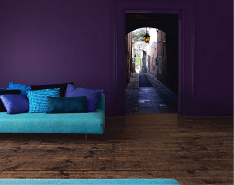Comment trouver la bonne couleur en d co floriane lemari for Decoration salon prune