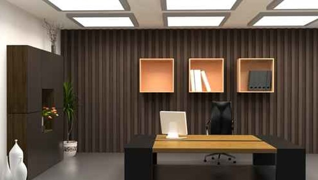 D coration bureau entreprise for Bureau decoration d interieur