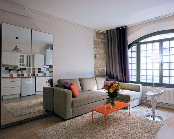 comment meubler un petit appartement tendance. Black Bedroom Furniture Sets. Home Design Ideas