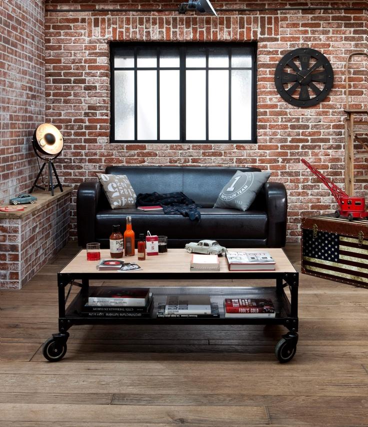 d coration industrielle floriane lemari. Black Bedroom Furniture Sets. Home Design Ideas