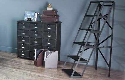 echelle metal pas cher. Black Bedroom Furniture Sets. Home Design Ideas