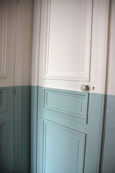 La d co voit la vie en deux couleurs floriane lemari - Porte peinte en deux couleurs ...