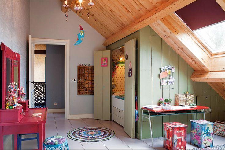 Beau Decoration Chambre Mansardee Garcon #12: Chambre Mansardée ...