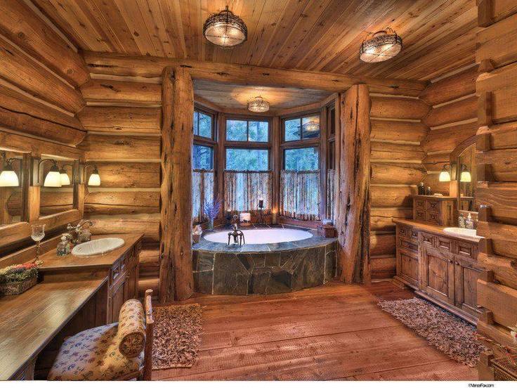 Le bois habille la salle de bain floriane lemari - Salle de bain en bois ...