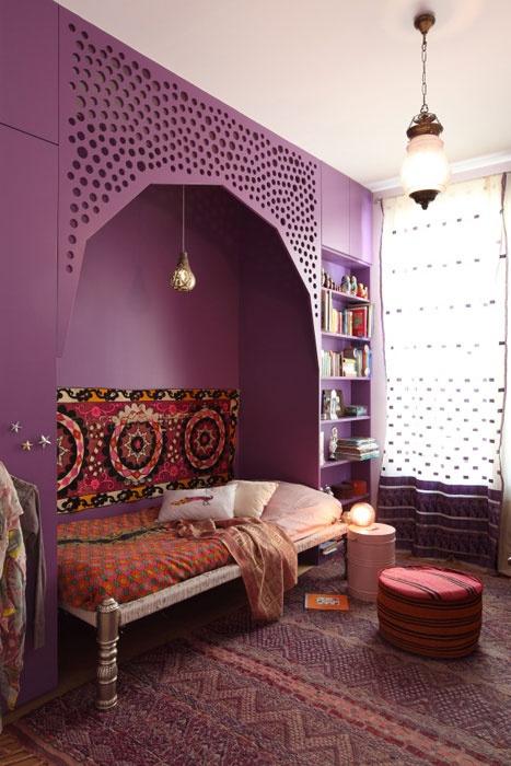 d coration chambre enfant orientale. Black Bedroom Furniture Sets. Home Design Ideas