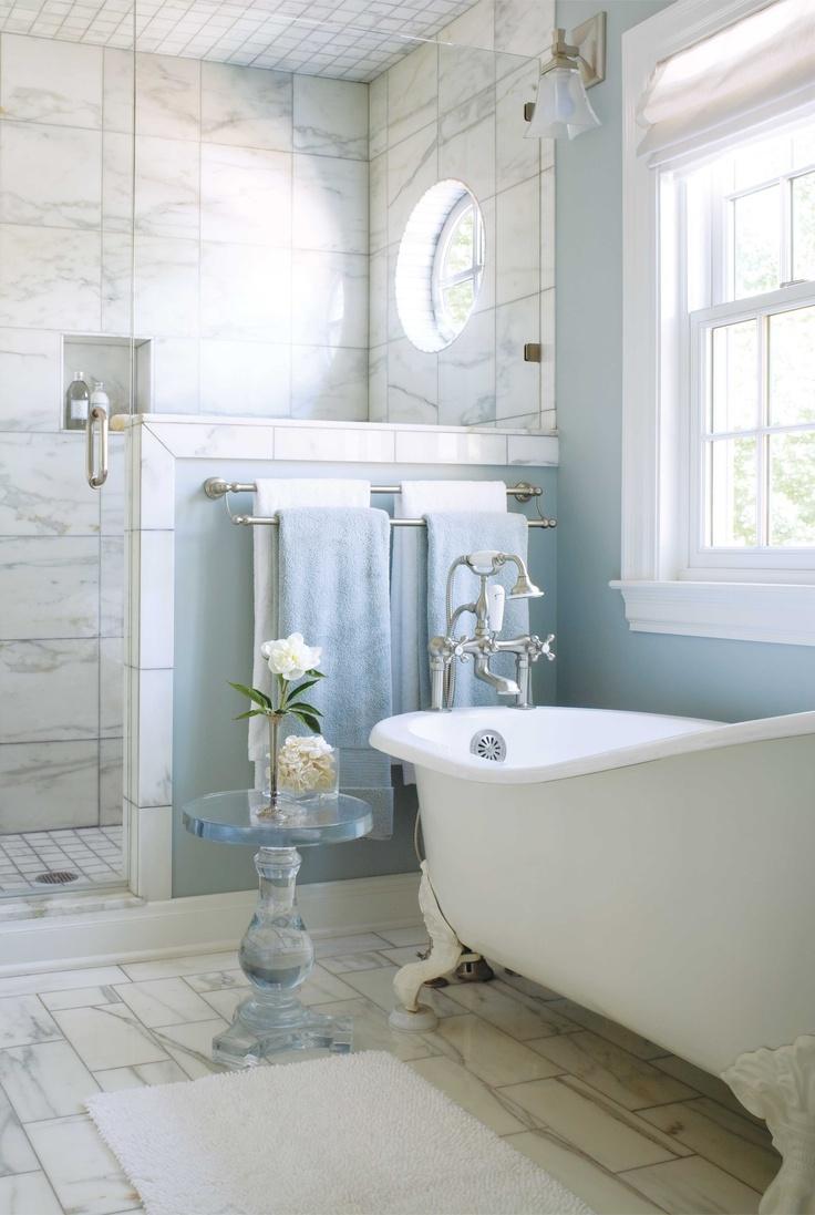 Peinture salle de bain bleu turquoise: les meilleurs couleurs pour ...