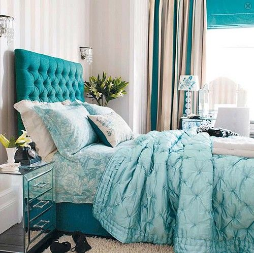 Chambre Turquoise. Chambre Adulte Bleu Turquoise With Chambre ...