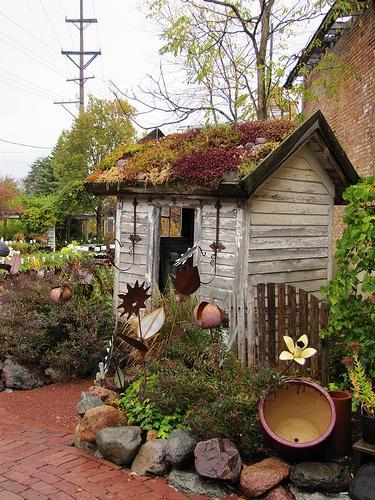 Ma cabane au jardin floriane lemari for Cabane de jardin chic