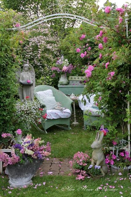 Deco Jardin Pinterest - Maison Design - Heskal.Com
