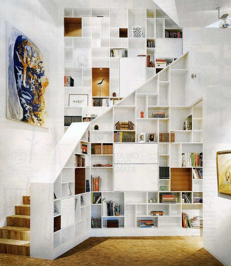 L 39 Escalier Est Aussi Un Espace De Rangement Floriane Lemari