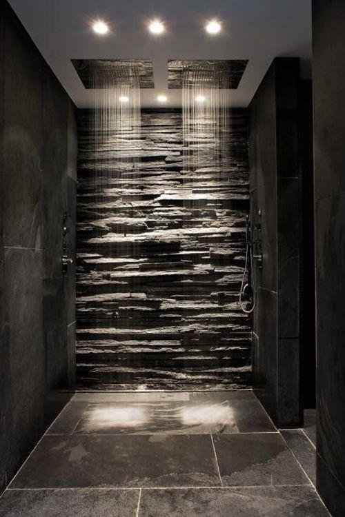 Regenwalddusche Led : Rain Shower Bathroom Design