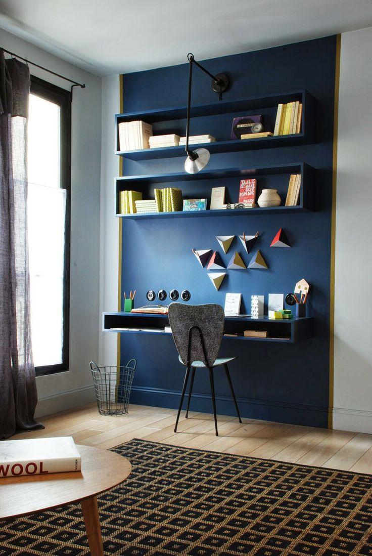 un bureau dans la d co floriane lemari. Black Bedroom Furniture Sets. Home Design Ideas