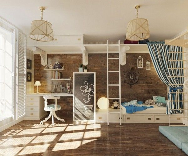 Chambres d 39 enfants une rentr e inspir e floriane lemari for Chambre pinterest