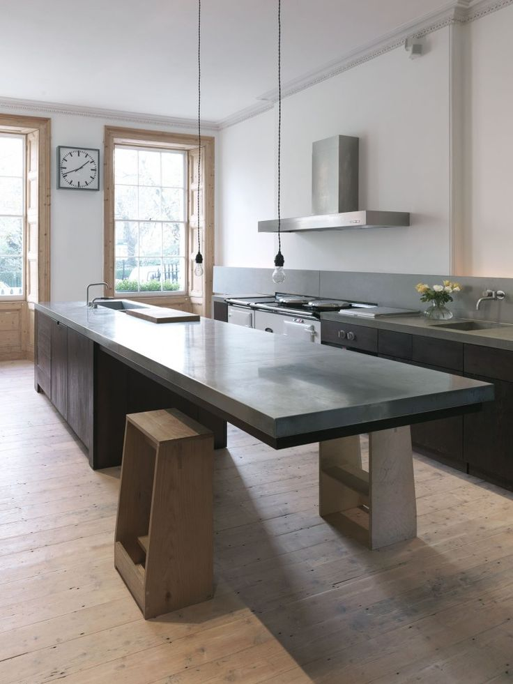 Projecteur sur des cuisines contemporaines et pur es for Cuisine moderne 2015