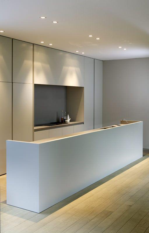 Projecteur sur des cuisines contemporaines et épurées - Floriane ...
