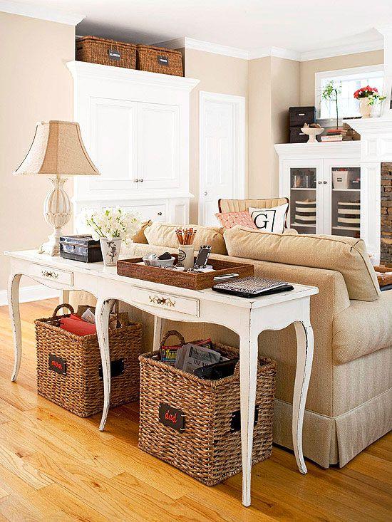 Des rangements autour du canap floriane lemari - Supports magazines simples fois tres design ...