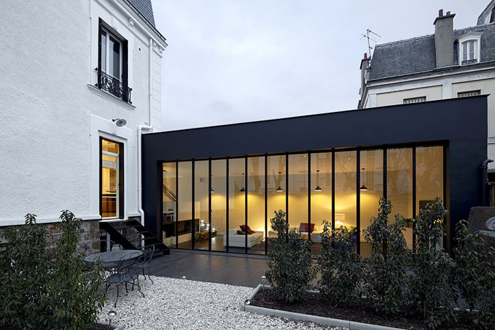 La v randa illumine les int rieurs floriane lemari for Recours architecte extension garage
