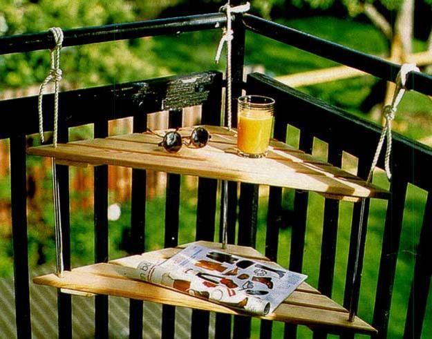 Des solutions pour d ner sur un petit balcon floriane lemari - Deco voor terras ...