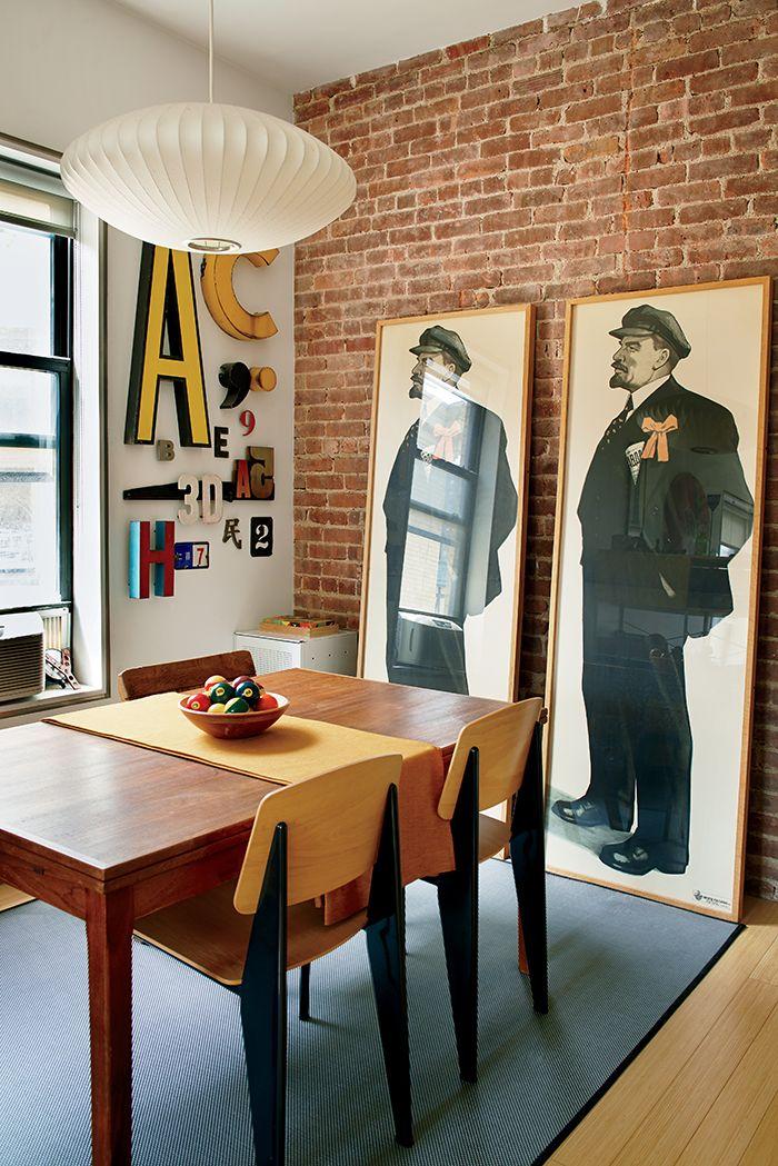 r tro et moderne duo de choc dans la d co floriane lemari. Black Bedroom Furniture Sets. Home Design Ideas