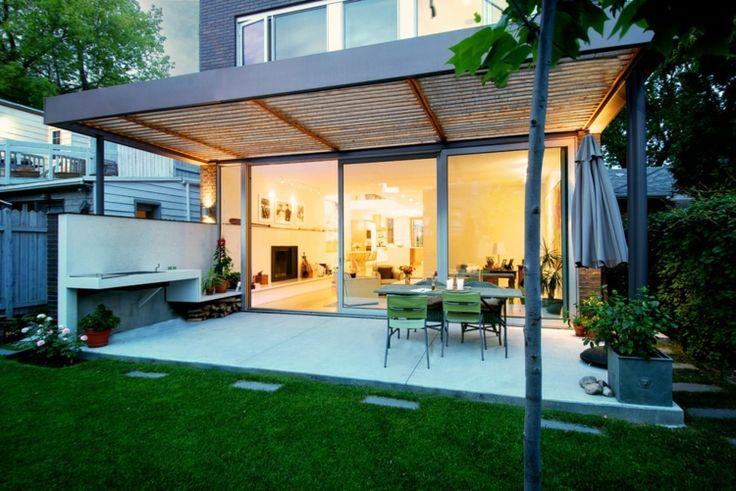 des auvents de terrasse pour se prot ger du soleil floriane lemari. Black Bedroom Furniture Sets. Home Design Ideas