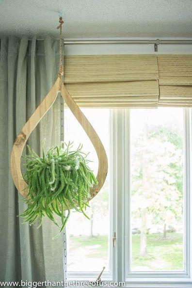 idée déco du samedi : fabriquer une jardinière suspendue ...