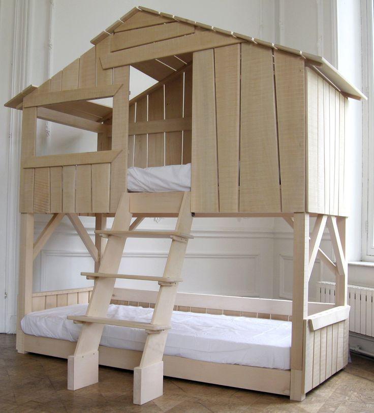 Les lits se superposent floriane lemari - Fabriquer des lits superposes ...