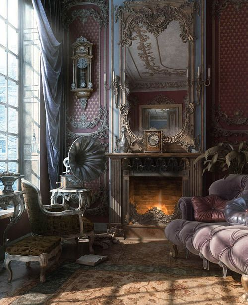 Victorian Style Bedroom Tumblr : Tendance steampunk dans la d?co floriane lemari?
