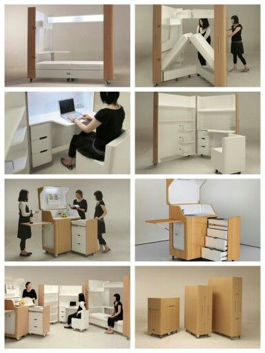 coup de c ur des meubles escamotables pour petits espaces floriane lemari. Black Bedroom Furniture Sets. Home Design Ideas