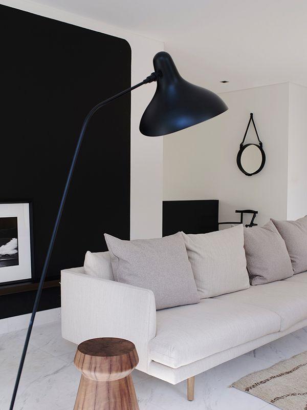 Des salons en noir et blanc  Floriane Lemarié