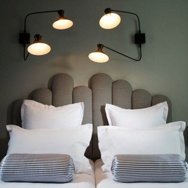 inspirez vous des t tes de lit d h tels floriane lemari. Black Bedroom Furniture Sets. Home Design Ideas