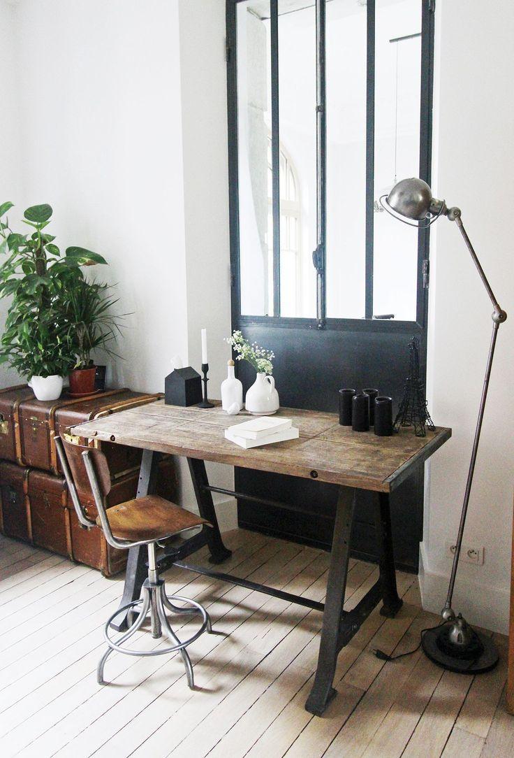 Comment donner du style votre bureau floriane lemari for Bureau style industriel