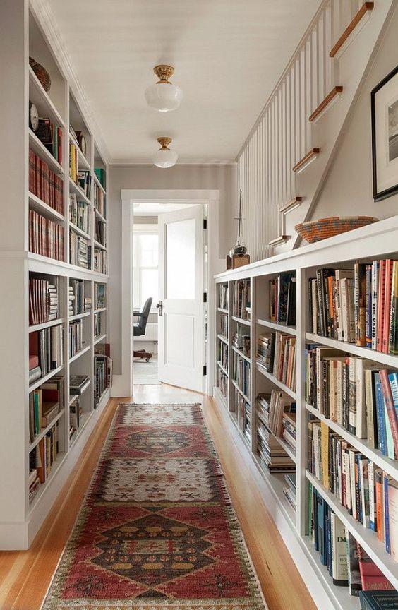 des id es pour d corer et am nager un couloir floriane lemari. Black Bedroom Furniture Sets. Home Design Ideas