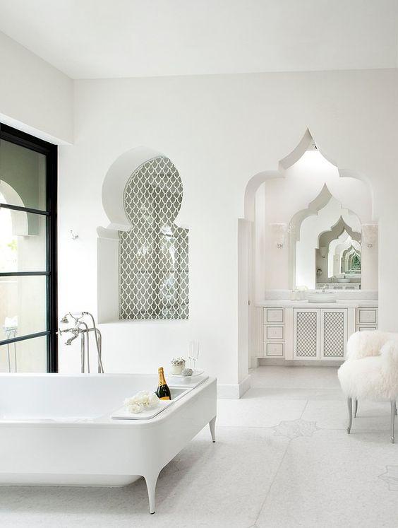 des salles de bain au style oriental version pur e floriane lemari. Black Bedroom Furniture Sets. Home Design Ideas