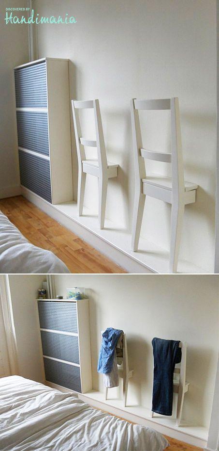 l id e d co du samedi des chaises v tements pour la chambre floriane lemari. Black Bedroom Furniture Sets. Home Design Ideas