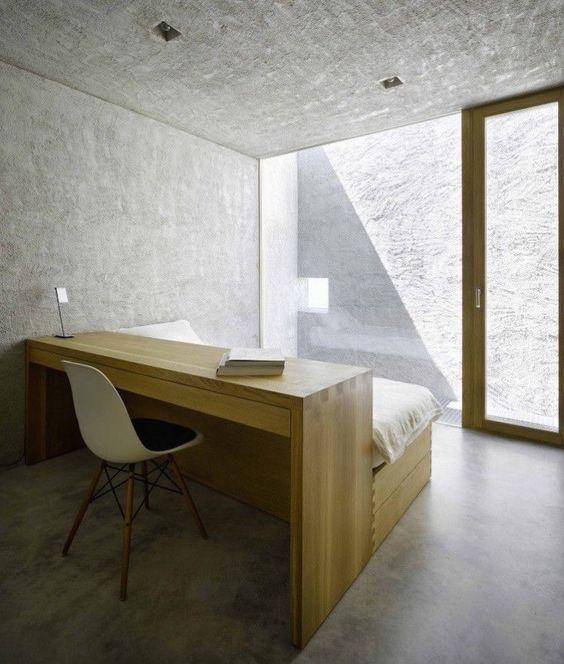Baignoire Derriere Le Lit : Installer un bureau avec sa tête de lit floriane lemarié