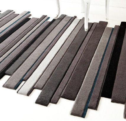Des tapis d co floriane lemari - Tapis de bain formes originales ...