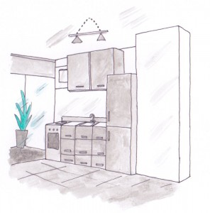 comment d corer sa cuisine floriane lemari. Black Bedroom Furniture Sets. Home Design Ideas