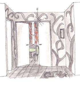 comment am nager et d corer son entr e floriane lemari. Black Bedroom Furniture Sets. Home Design Ideas