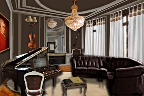 Le salon de musique floriane lemari for Salon armes
