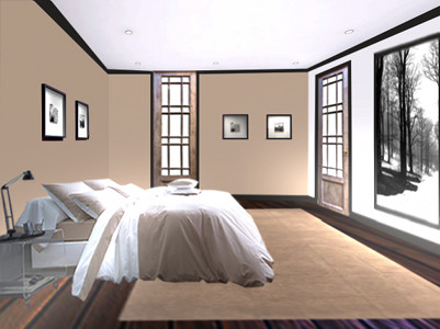la chambre lin floriane lemari. Black Bedroom Furniture Sets. Home Design Ideas