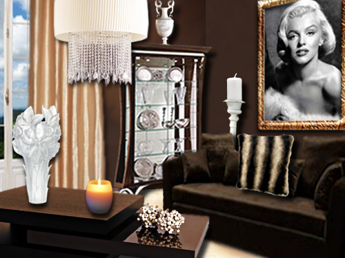 le salon marylin floriane lemari. Black Bedroom Furniture Sets. Home Design Ideas