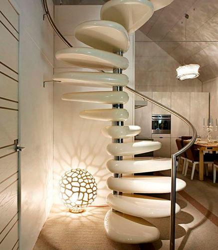 escaliers design fonctionnels et magnifiques. Black Bedroom Furniture Sets. Home Design Ideas