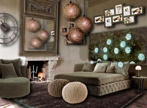 Une chambre lumineuse redécorée dans des tonalités de taupe par Floriane Lemarié