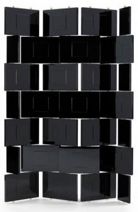 Paravent design BRICK by Eileen Gray