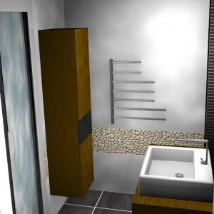 Rénovation d'une salle de bain par Floriane Lemarié