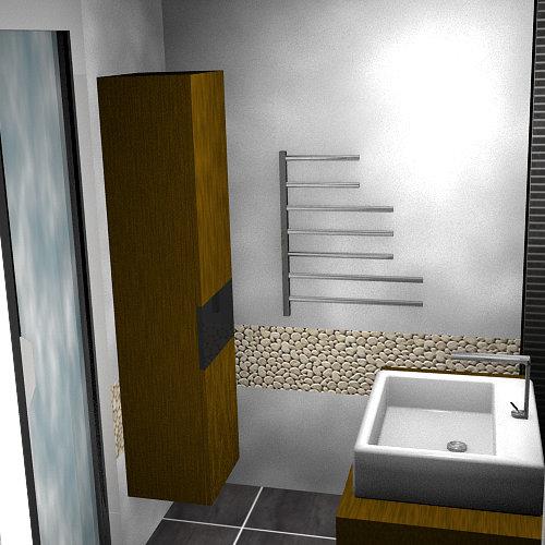avant apr s r novation d 39 une salle de bain dans un style contemporain floriane lemari. Black Bedroom Furniture Sets. Home Design Ideas
